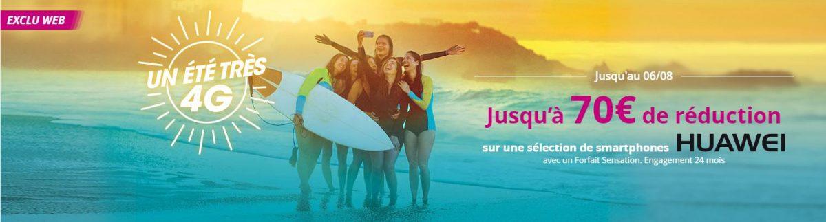 Offre Bouygues Telecom 70 euros de réduction