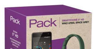 Pack Fnac smartphone Wiko Ufeel et casque Bluetooth Wishake