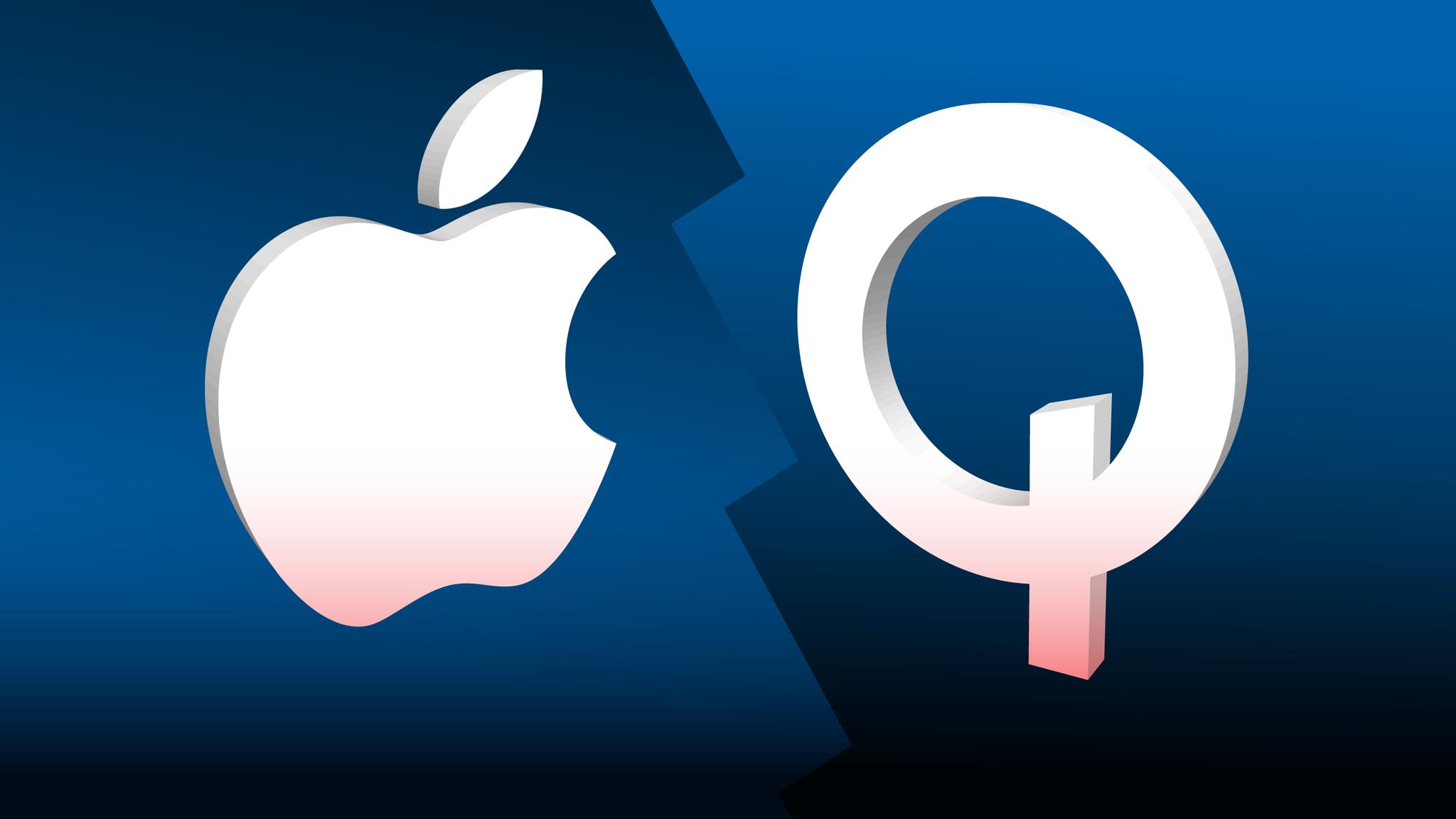 Qualcomm réclame des frais de licence de 7 milliards de dollars à Apple