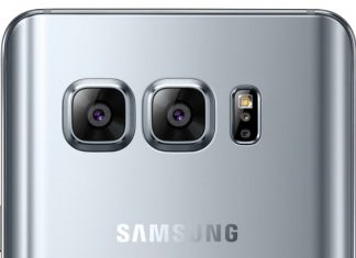 Galaxy S8 double capteur photo