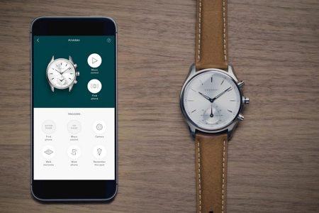 kronaby la montre connect e au design d 39 une montre classique. Black Bedroom Furniture Sets. Home Design Ideas