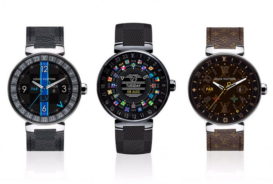 Voici la smartwatch Tambour Horizon de Louis Vuitton à 2 450 dollars