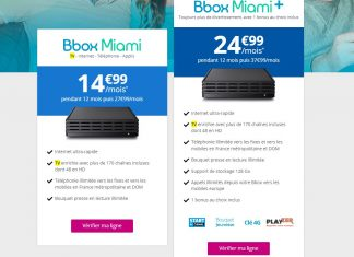 Bbox Miami+ de Bouygues Telecom