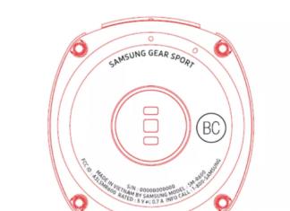 Nouvelle montre connectée Samsung