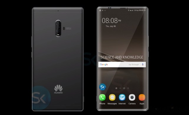 Huawei Mate 10 - Huawei s'inspire de LG FullVision et Samsung Infinity, et créée ainsi « EntireView Display » pour le Mate 10