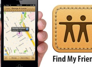 L'application Find My Friends