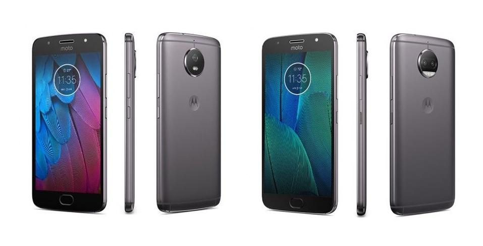 Motorola Moto G5S et G5S Plus