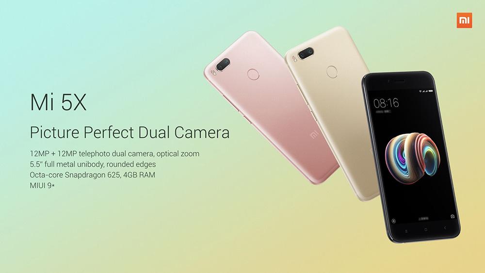 Xiaomi Mi 5X - Xiaomi et Google main dans la main pour concevoir l'Android One ?