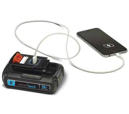 Batterie connectée Smart Connect de Black+Decker