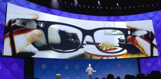 facebook lunettes realité augmentee