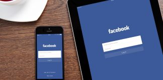 Facebook application mobile