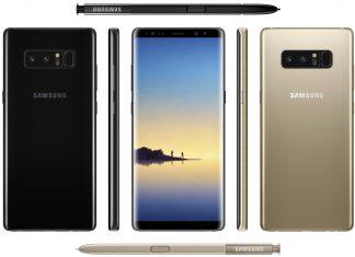 Samsung Galaxy Note 8 fuite d'Evan Blass