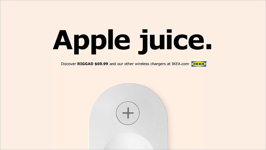 IKEA s'inspire des produits Apple pour créer une publicité !