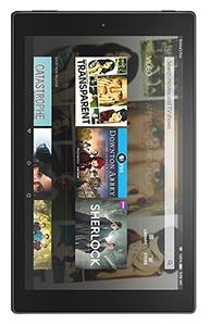Amazon Fire HD 10 Noir - Comparatif des meilleures tablettes blanches 4G de 2017