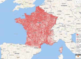 Arcep carte réseaux