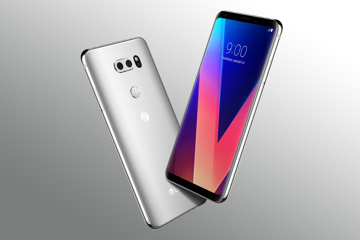 lg v30 le site d 39 un vendeur roumain d voile son prix et c 39 est moins cher que l 39 iphone x ou le. Black Bedroom Furniture Sets. Home Design Ideas