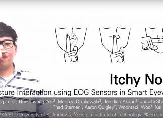 Lunettes connectées ItchyNose pour contrôler son smartphone