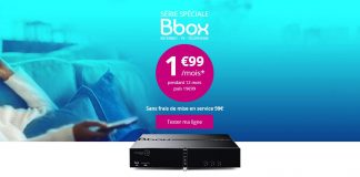 Serie spéciale Bbox ADSL