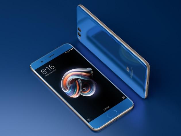 Xiaomi Mi Note 3 iPhone 8 Samsung Galaxy Note 8 smartphone