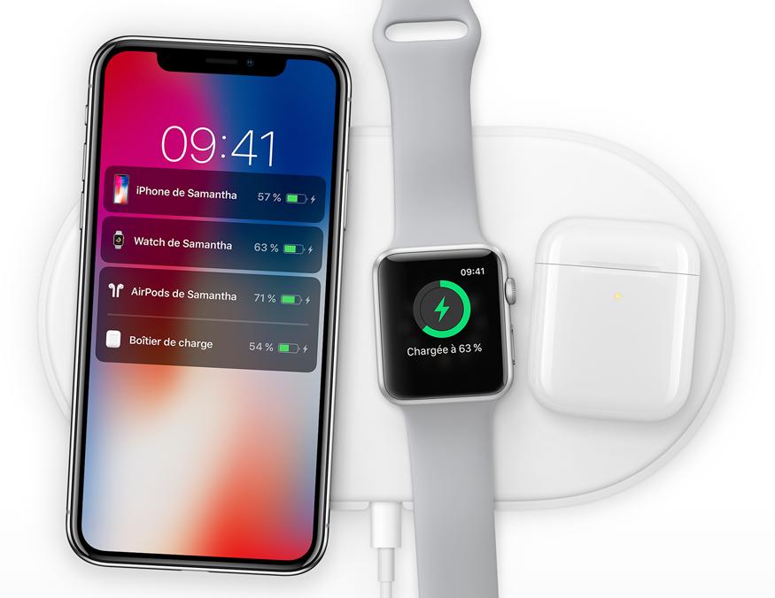 """recharge sans fil - iPhone X: """"dites bonjour au futur"""", mais surtout au prix"""