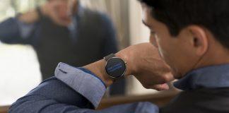 Utilisateur d'une montre connectée