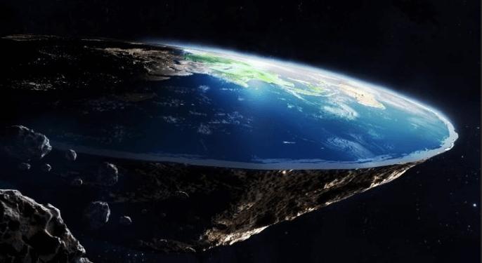 Il prouve que la Terre est plate avec un niveau à bulle et un iPhone