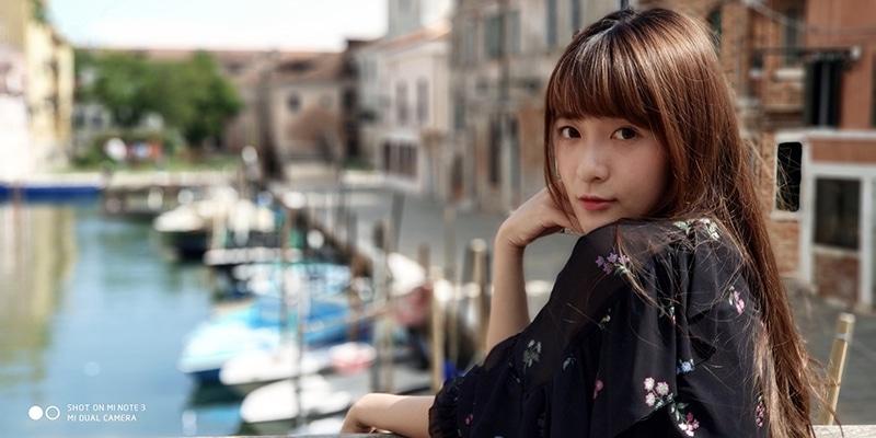 Xiaomi Mi Note 3 photo officielle