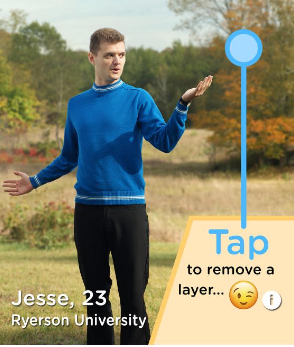 2 - Tinder : un utilisateur se met à nu