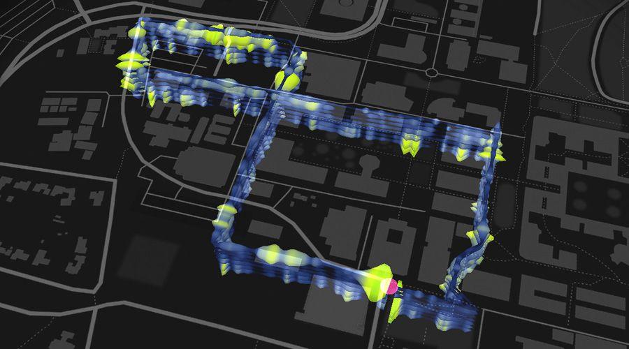 Fibre pour détecter séisme