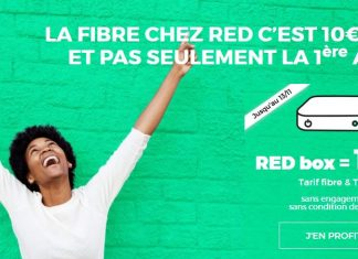 RED by SFR Box Série Spéciale 10 euros