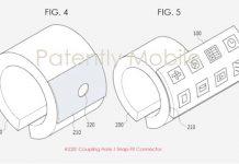 Bracelet connecté Samsung avec écran pliable
