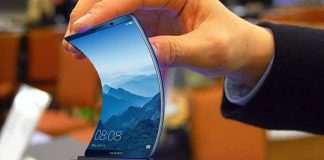 Smartphone Huawei pliable