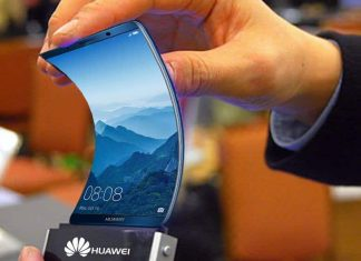 Smartphone Huawei pliable