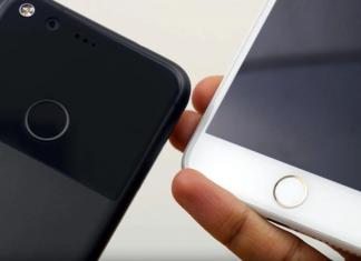 Google Pixel 2 iPhone 8