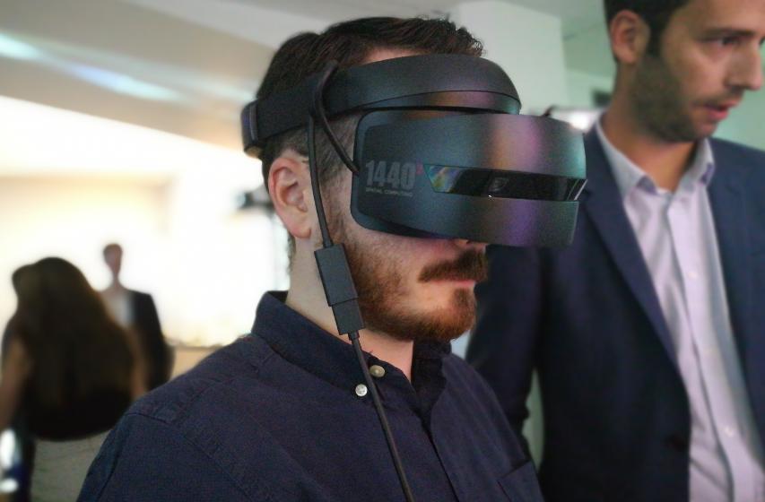 poto fredzone - Microsoft : on a testé la réalité virtuelle et mixte !