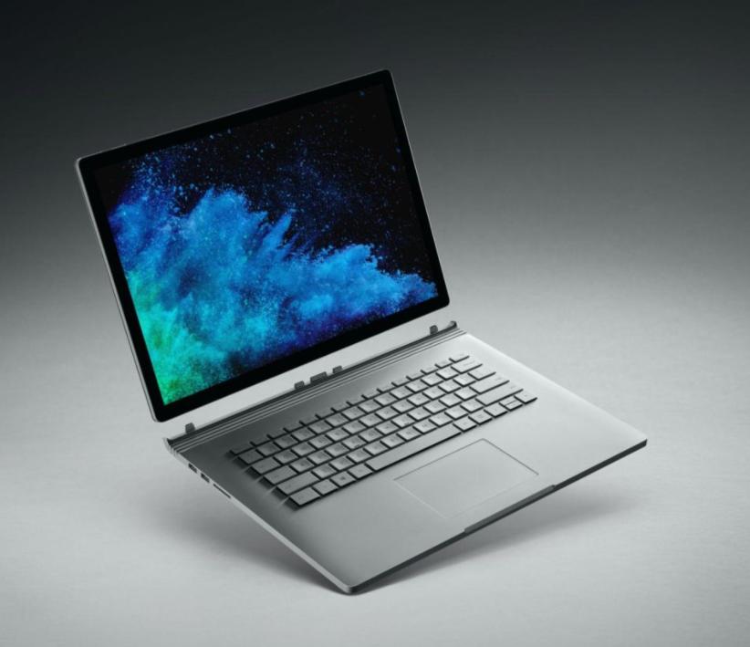 Voici le nouveau Surface Book 2