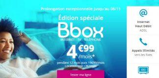 Bbox ADSL offre Bouygues