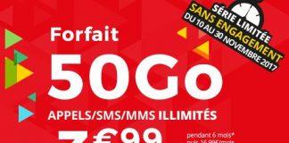 Forfait 50 Go Auchan Télécom