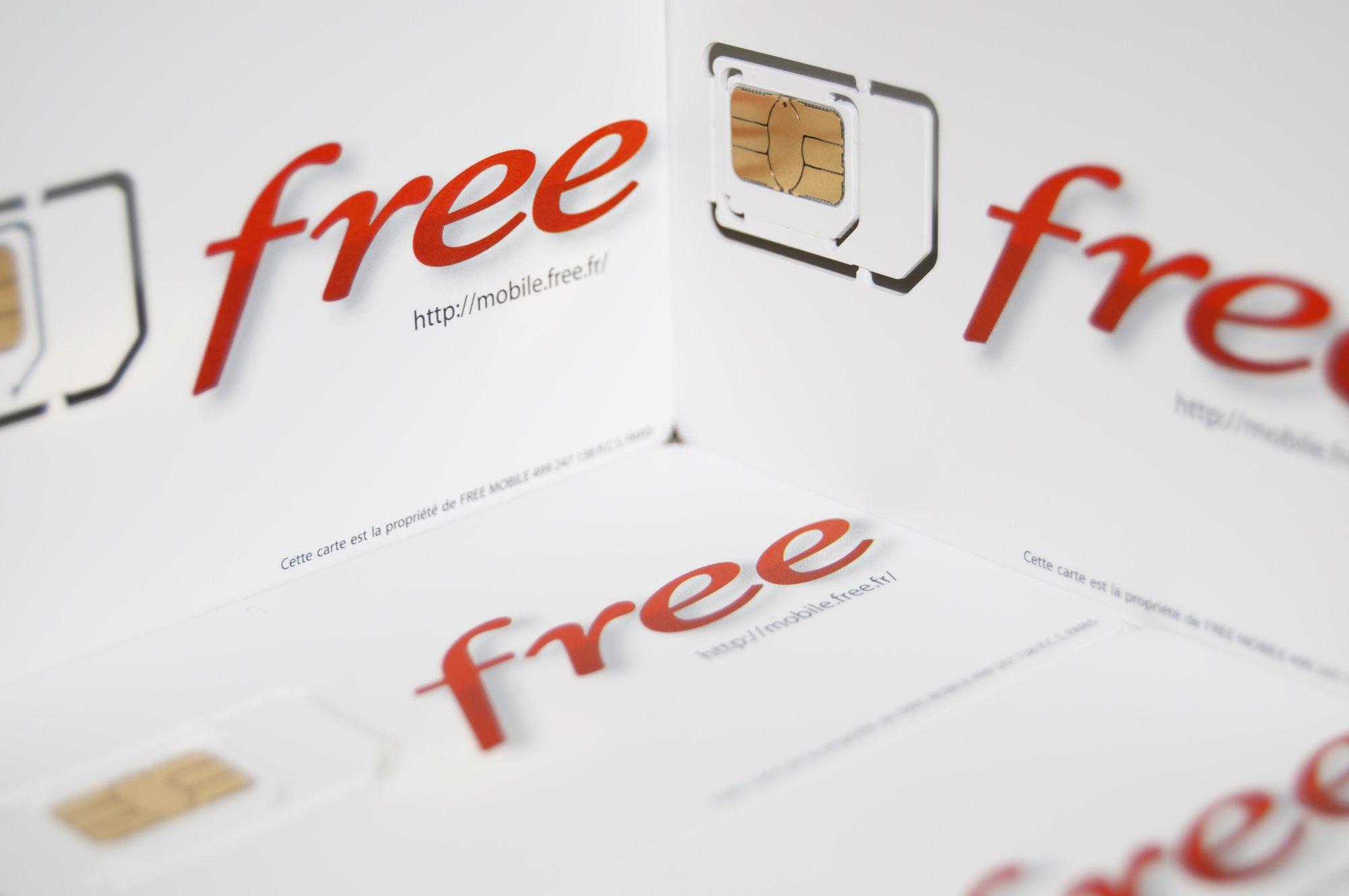 Free Mobile perd des abonnées aux forfaits à 0 et 2 euros