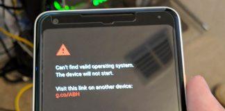 Google Pixel 2 XL sans Android