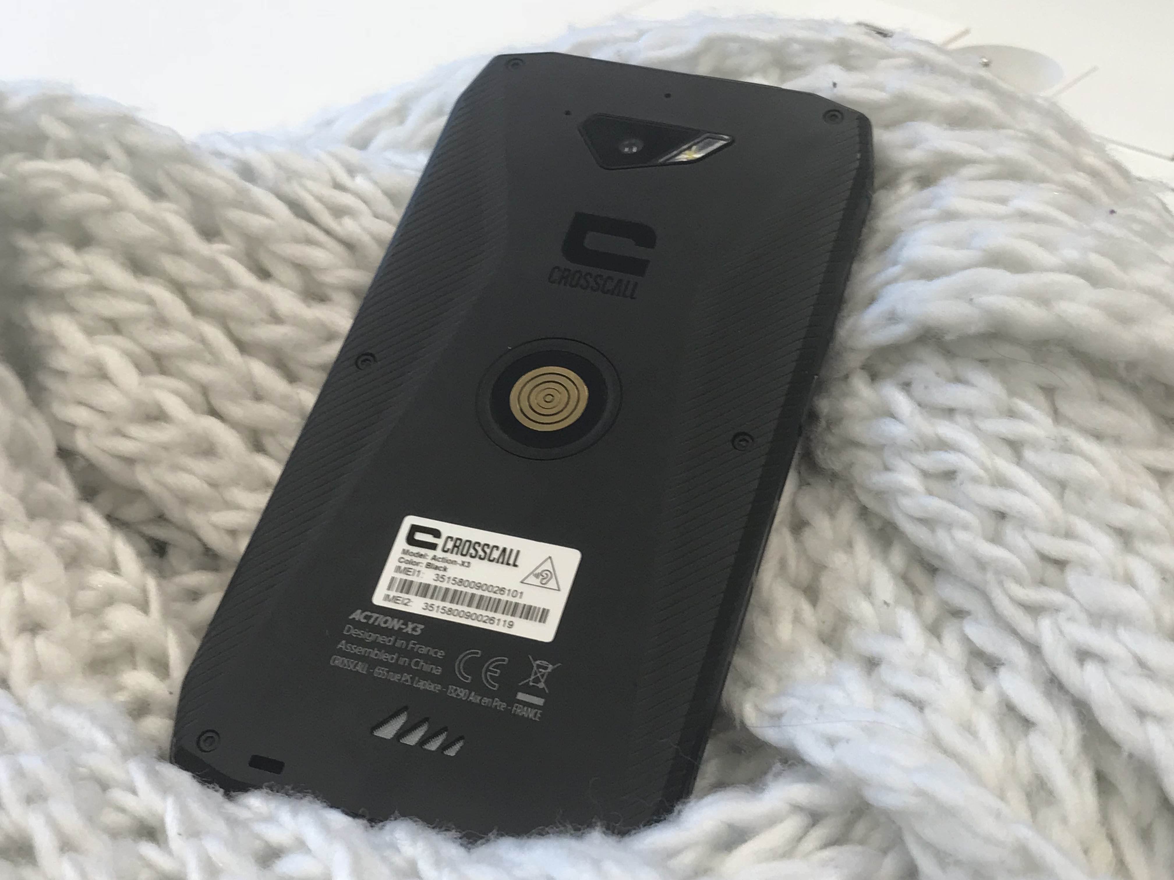 IMG 1256 - [Prise en main] Crosscall Action-X3 : un smartphone outdoor milieu de gamme particulièrement pratique