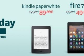 Kindle Paperwhite Fire 7 Fire HD 8 Black Friday 2017 Amazon