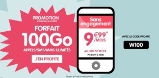 NRJ Mobile forfait 100 Go