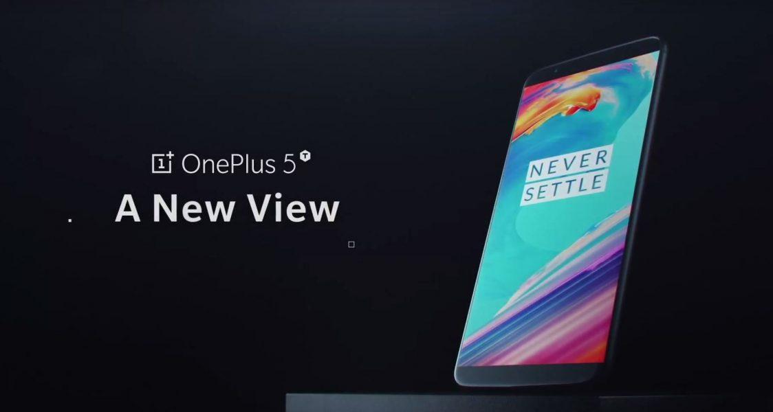 OnePlus 5T smartphone soldes GearBest