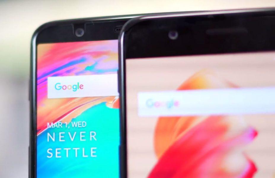 OnePlus 5T et OnePlus 5 unboxing photos