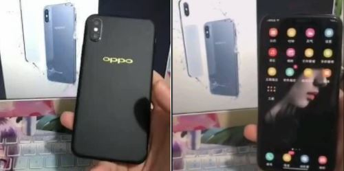 Oppo R13 iPhone X