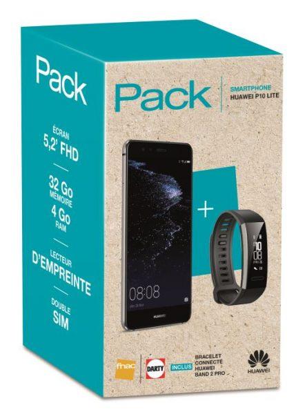 Pack Fnac Huawei P10 Lite Band 2 Pro
