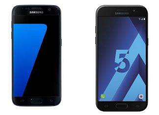 Samsung Galaxy S7 Samsung Galaxy A5 2017 offre La Poste Mobile