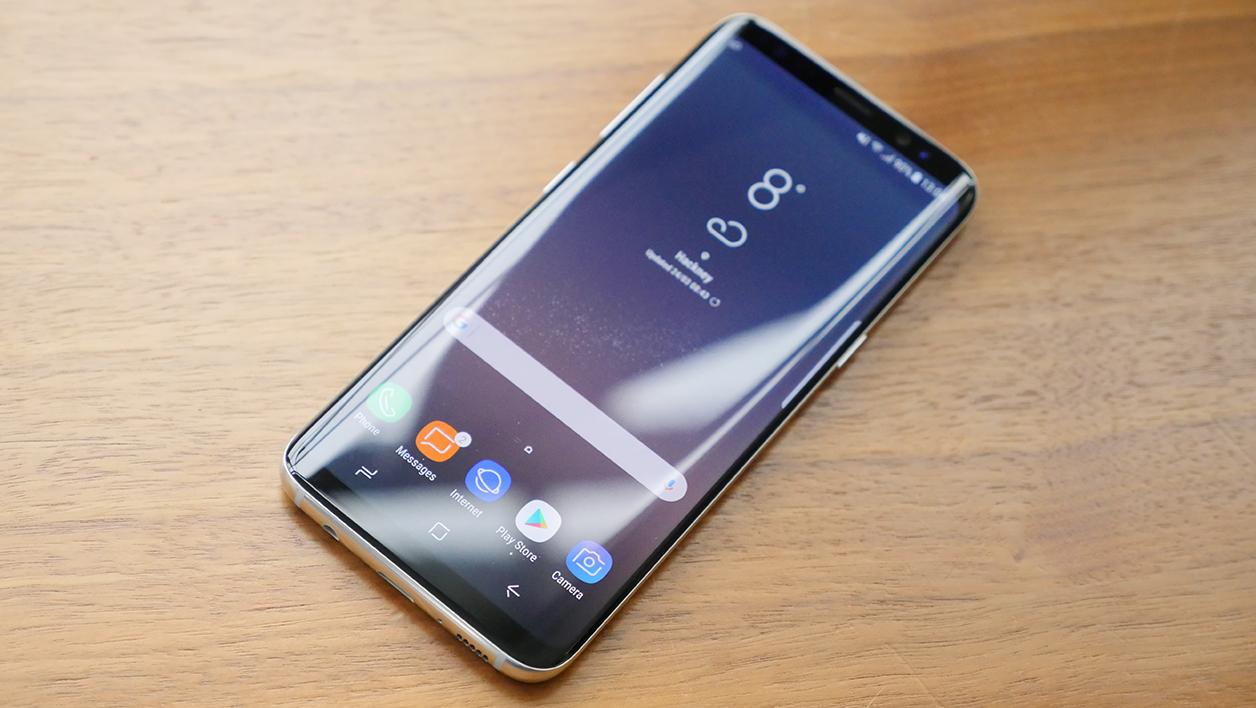 Cyber Monday 2017 Samsung Galaxy S8+ Gris Orchidée