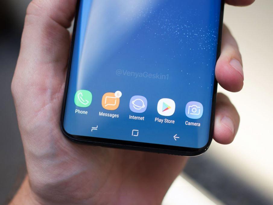 Les prochains smartphones Samsung embarqueraient un appareil photo sous l'écran
